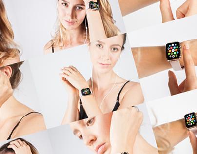 Freebie: 9 realistic Apple Watch mockups
