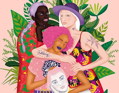 Sororidad - Ilustración