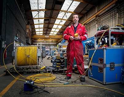 Portraits at James Fisher Marine Services