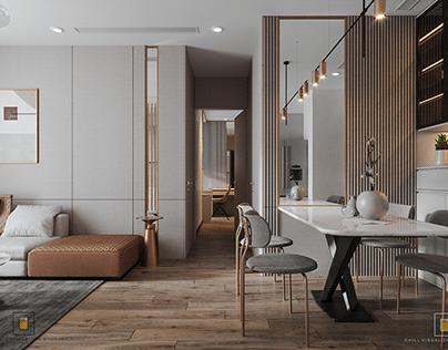 VINHOMES SKYLAKE Apartment - By Chill