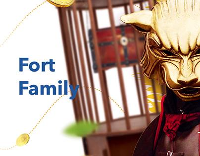 Разработка презентации для ивент-агенства Fort Family