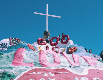 Somewhere New : Salvation Mountain