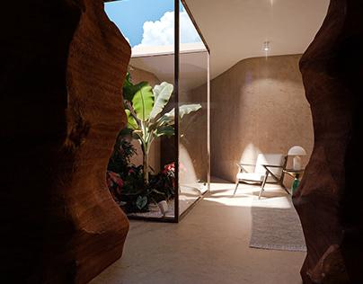 CG Interior - House cellar