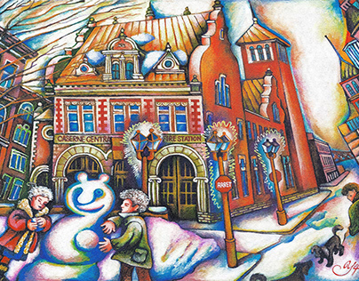 Azura's Holidays 2020 card