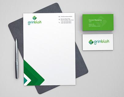 Grinblock   Brand Identity