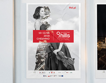 9 HILLS FESTIVAL - festival visual identification