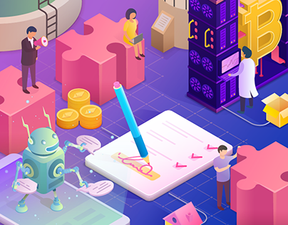 Isometric Illustration 2018