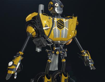SHUMKA // Robot 3D model