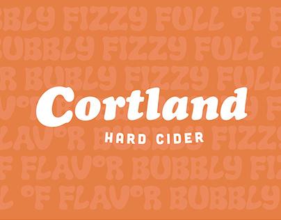 Cortland Cider: Packaging