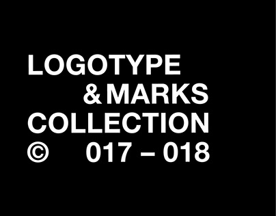 LOGOTYPE & MARKS COLLECTION © 017 – 018