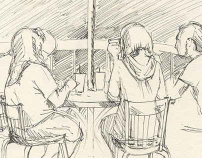 '16 Dinner Sketch