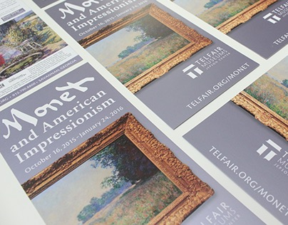 Monet and American Impressionism Exhibition Campaign