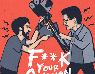 F**k Your Opinion Podcast Branding
