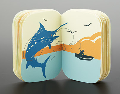 Book & Packaging Design - Old Man & The Sea