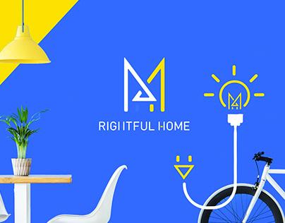 RIGHTFUL HOME Identity Design
