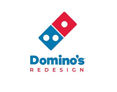 REDESIGN DOMINO'S WEBSITE