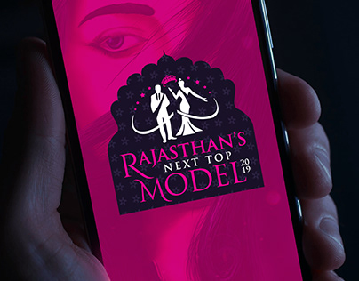 Rajasthan's Next Top Model 2019 Event Branding