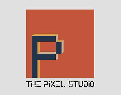 The Pixel Studio Logo Design