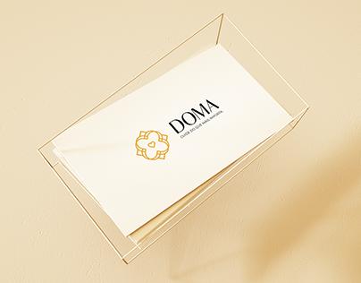 DOMA - Logotipo e Identidade Visual
