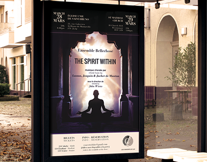 Spirit Within Concert Poster