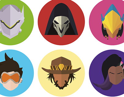 Overwatch Icons