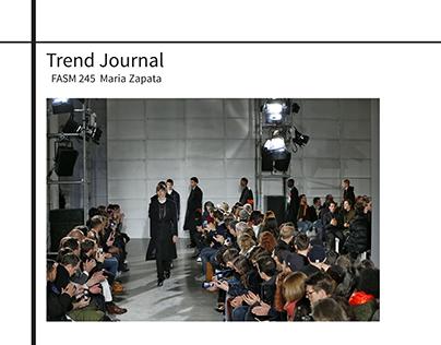 Trend Journal A/W '17