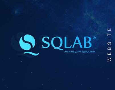 SQLab – website design