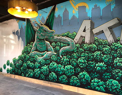 Murals for Firemaker Beer