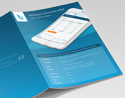 BitShares community wallet WP brochure concept