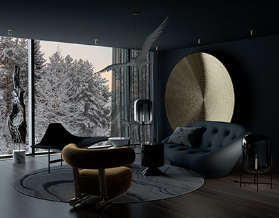 USOVO | BLACK VILLA | design by Rubashenka