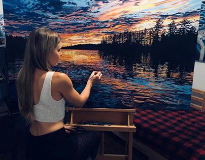 Beautiful Scenery Painting
