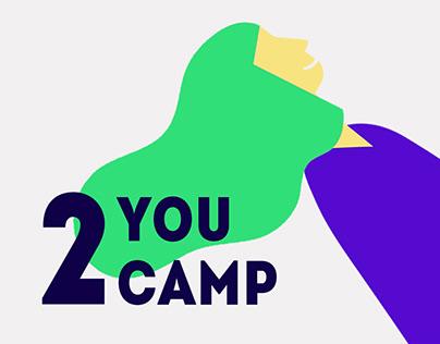 Айдентика студенческого лагеря The identity of the camp