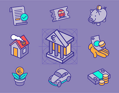 Finanzguru Icon Set