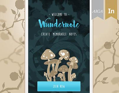 Wundernote App