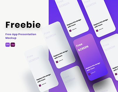 Free Behance Presentation Template