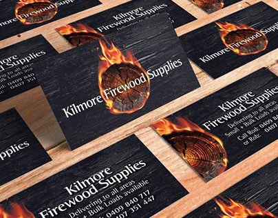 Kilmore Firewood Supplies - Logo & Business Card Design
