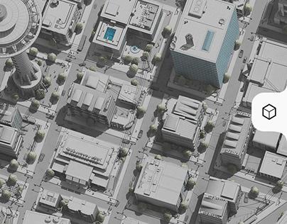 3D City Blocks