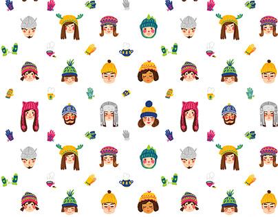 Winter hats pattern
