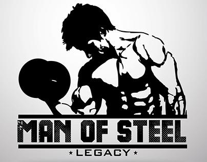 Gym Logo: Man Of Steel