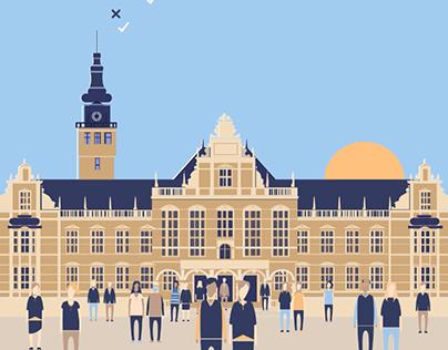 University of Groningen Animation