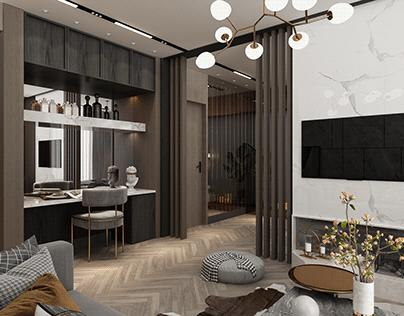Tint Mimarlık Otel Suit Oda Projemiz