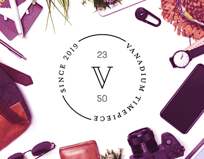 Vanadium Watches - Brand identity