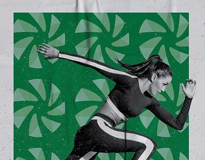 SICREDI | Comunicação quadra de Esporte