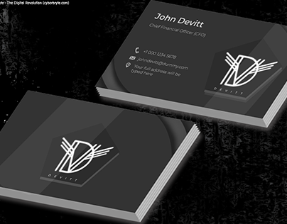 Devitt - Business Card Design - demo