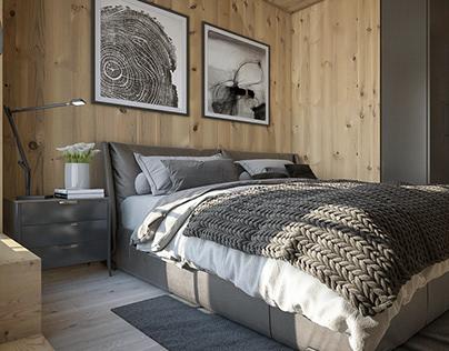 Wooden Cottage Interior Design!
