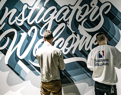 Instigators Welcome Mural