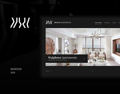 ZIGZAK Apartments Website