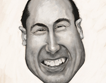 Caricature Example 01 (Adrian Smith)
