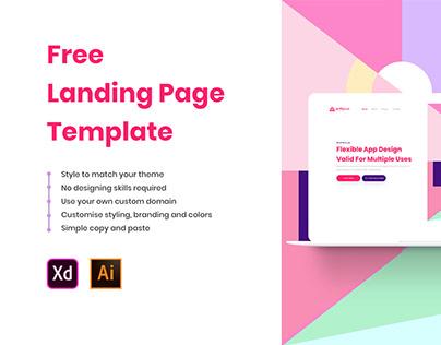 Free Landing Page by Artfocus