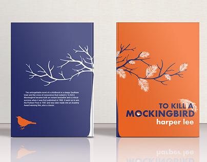 harper lee / book cover design